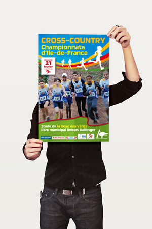 pack affiche Cross Country ville Aulnay-sous-Bois