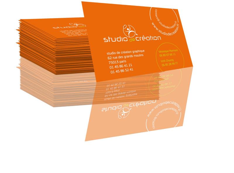 Pack Carte De Visite Logo